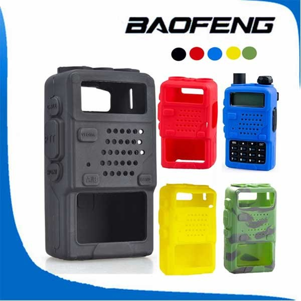 Porte-/étui multifonction pour Baofeng UV-5R UV-5RA UV-82 UV-B5 porte-/étui r/églable pour radio bidirectionnelle Pochette de transport de sac de talkie-walkie en nylon portable pour lext/érieur